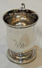 Antique Fletcher & Gardiner of Philadelphia Coin Silver Cup