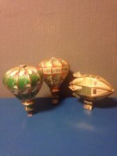 3 x beer can mobile hot air ballon/zeppelin models san miguel 7up