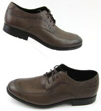 Rockport Fairwood 2 Moc Toe Oxford Shoes Brown Leather Sz 12W Wide Width