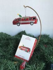 Hallmark Keepsake Ornament Happy Campers 2014 Vintage RV with tree out the top
