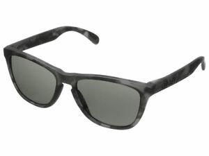 Oakley Frogskins Fall Out Sunglasses 24-415 Matte Black Tortoise/Dark Grey