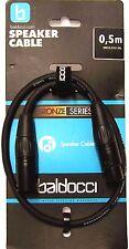 50cm Mikrofonkabel 0,5m mit howertigen XLR  Rane Stecker auch für DMX geeignet