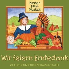 Gertrud und Dirk Schmalenbach  Wir Feiern Erntedank KINDER MINI MUSICAL RAR OVP