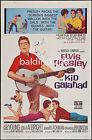ELVIS PRESLEY - KID GALAHAD - HIGH QUALITY VINTAGE MOVIE/MUSIC POSTER