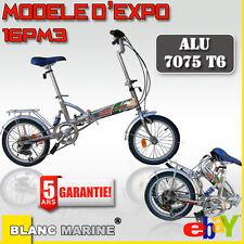 Vélo pliant 16PM3 expo Blanc Marine
