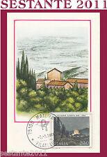 ITALIA MAXIMUM MAXI CARD 1981 GIUSEPPE UGONIA SERA DI FESTA (359)