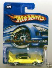 Hot Wheels 2006 FE 001 70 Plymouth Superbird Yellow 10s