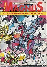 LA COMPAGNIA DELLA FORCA N. 11 ed. GRANATA PRESS