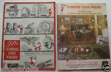 2 Catalogs  For Sturbridge Yankee WorkshopXmas 60 Win. 61  Xmas 1961/Winter 62
