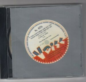 V-DISC War Department CD  #437B  - The King Cole Trio  - Volume 1