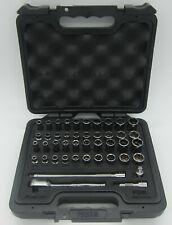 Snap On 44 Piece 14 Drive Fdx Socket Set Ratchet Kit Foam Case144ytmpbfr Hex