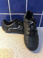 Junior Boys Sondico football boots size Black UK C 12 31 child