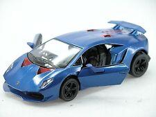 Kinsmart Lamborghini Sesto Elemento (Blue) 1:38 Die Cast Metal Collectable Car