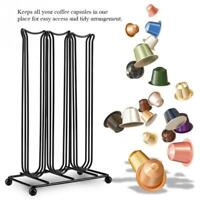 Coffee Capsules Storage Rack Holder Bracket Pods For 42 Nespresso Capsules