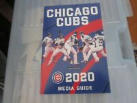 NEW 2020 CHICAGO CUBS Media Guide---HAVE IT IN 2-3 DAYS FREE PIORITY