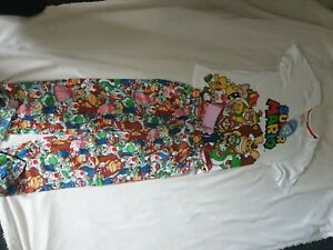 Peter Alexander Collection, Supermario Pijama Size XS, Multicoloured, New