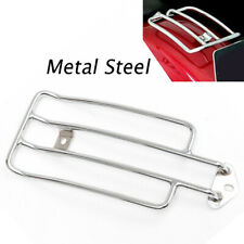 US STOCK Motorcycle Chrome Solo Seat Rear Fender Luggage Rack Fit For Honda BMW