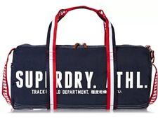SUPERDRY 2017 Super T&F Athletic Barrel Holdall LAPTOP Duffle GYM Kit Bag SALE!