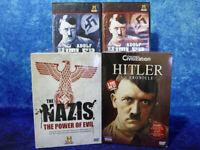 NAZI / HITLER 8 DISC DVD BUNDLE! Power of Evil & A Chronicle Box Sets + 2 More