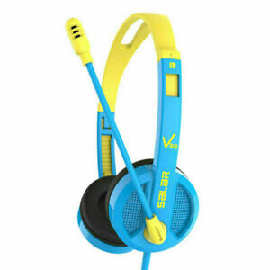 Wired Computer Headphones Over Ear Stereo Headsets for Desktop School Home Gift