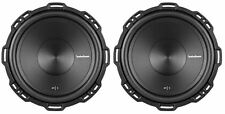 "2 Rockford Fosgate P1S4-12 Punch 12"" 1000 Watt 4 Ohm Car Stereo Subwoofers"