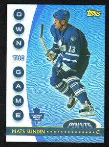 2002-03 Topps OPC Own The Game Inserts #1-20 Complete, Finish Your Set, You Pick