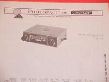 1970 TRUETONE FM-MPX RADIO SERVICE MANUAL MIC4055A-07 & MID4055A-07 (DC4055)