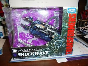 MB-04 Transformers Dark Of The Moon Shockwave Takara Tomy Figure Japan US Seller