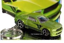 Custom Key Chain '07 Ford Mustang green