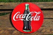 Coca-Cola Bottle Embossed Tin Metal Sign - Vintage - Retro - Coke