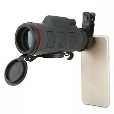 Outdoor 35X42 Zoom Optical Lens Telescope + Clip For Camera Mobile Cell Phone