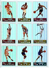 1994 Pacific Prism College Basketball cards, Base & Inserts, 2 for $1.95 and up.