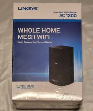 Linksys Velop Whole Home Mesh Dual-Band WiFi 2.4GHz / 5GHz Router AC 1200 NEW