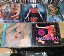 Madonna 5 X CD Albums Assorted - Ray Of Light, MDNA, Confessions, Like A Prayer