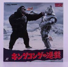 Laserdisc KING KONG ESCAPES TLL 2386 AKIRA IFUKUBE Tokusatsu Japan