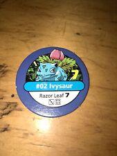 Pokemon Master Trainer - Blue Chip - #02 IVYSAUR - 1999 BLACK BOX Ed.