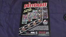 Original Atari Jaguar Advertisement Page 1995 Pinball Fantasies rare