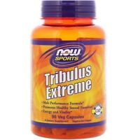 NOW Sports Tribulus EXTREME 90 Caps Test Boost Maca Libido Fertility Green Tea