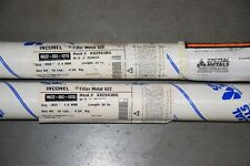 "Special Metal Inconel 622 TIG 36"" Cut Length *With Cert* 1/16  & 3/32"