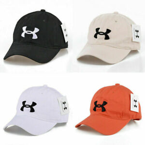 Under Armour Baseball Cap Sport Adjustable Mens Womens Golf Summer Visor Hat AU