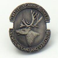 1987 Jeux Canada Games Newfoundland And Labrador Pin G018