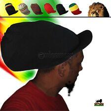 Deep Crown Rasta Peak Hat Cap Marley Jamaica Rastafari Reggae Rastafashion L/XL
