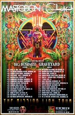 MASTODON | CLUTCH Missing Link Tour 2015 Ltd Ed RARE Poster +FREE Metal Poster