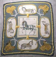 "Authentique Foulard Hermès "" Grand Apparat "" / Hermès  Scarf  "" Grand Apparat """