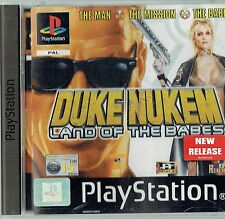 DUKE NUKEM LAND OF BABES (Sony PlayStation 1, 2001) - versione Europea