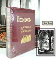 LONDON PILGRIMAGE - GUSTAVE DORE - Easton Press -  HUGE FOLIO SIZED BOOK  SEALED