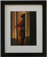 Jack Vettriano - On Parade- Framed & Mounted Print Thin Black FREE P+P