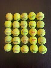 25 used tennis balls