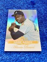 HANK AARON ATLANTA BRAVES HOF 2011 TOPPS TRIBUTE #100