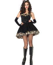Frisky Feline Cat Costume for Women size M/L (8-12) New by Leg Avenue 83851